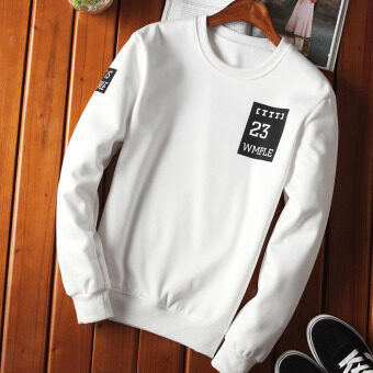 Yi Hyun legend New style men's autumn hedging hoodie (Clothing HyunVE15 white)
