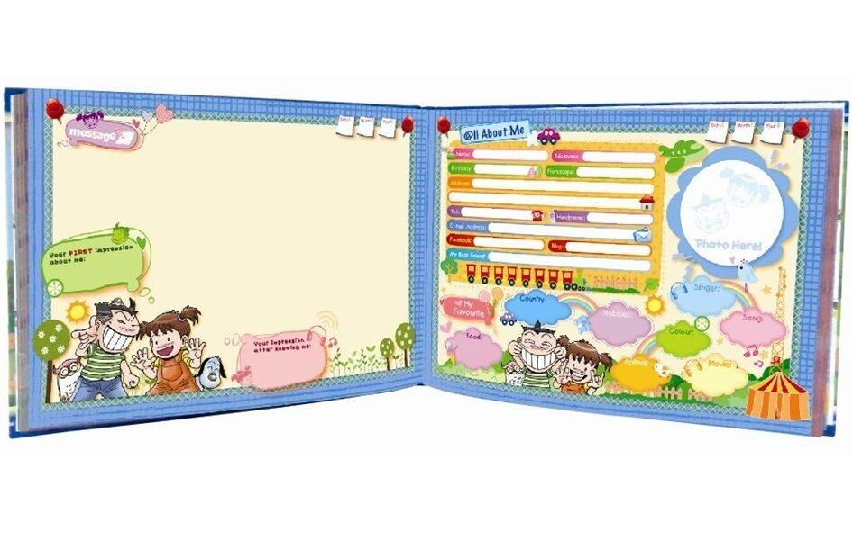 GeMeiLia Autograph Book Stationery Set