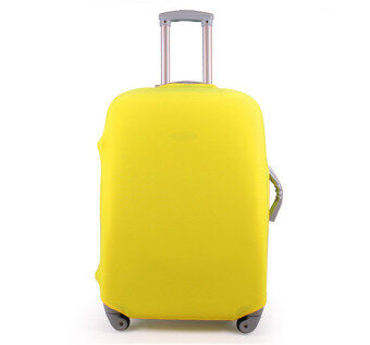 1 x Luggage Protector Elastic Suitcase Cover Bags Dust-proof Case24'' Yellow