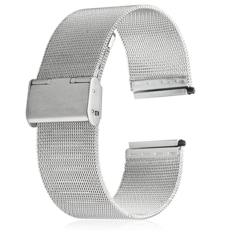 18mm Stainless Steel Mesh Bracelet Watch Band Replacement Strap for Men Women Malaysia