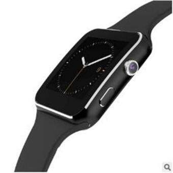 2017 New Bluetooth Smart Watch X6 Smart watch sport watch For Apple iPhone Android Phone With Camera FM Support SIM Card