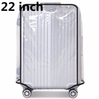 22inch PVC Transparent Travel Luggage Protector Suitcase CoverUsable Waterproof fashionable 22inch