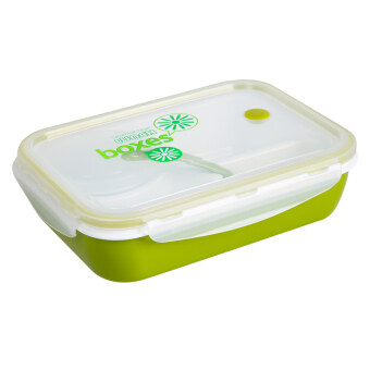 3 1 lunch box kids bento lunch box picnic lunch container green lazada malaysia. Black Bedroom Furniture Sets. Home Design Ideas