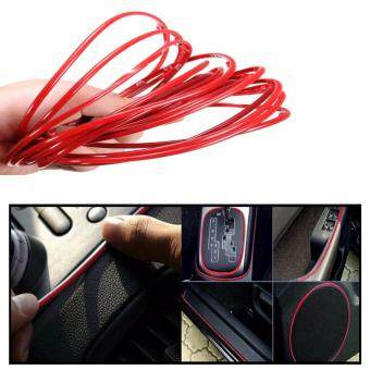 5m red diy flexible trim car interior exterior moulding strip decorative line lazada malaysia. Black Bedroom Furniture Sets. Home Design Ideas