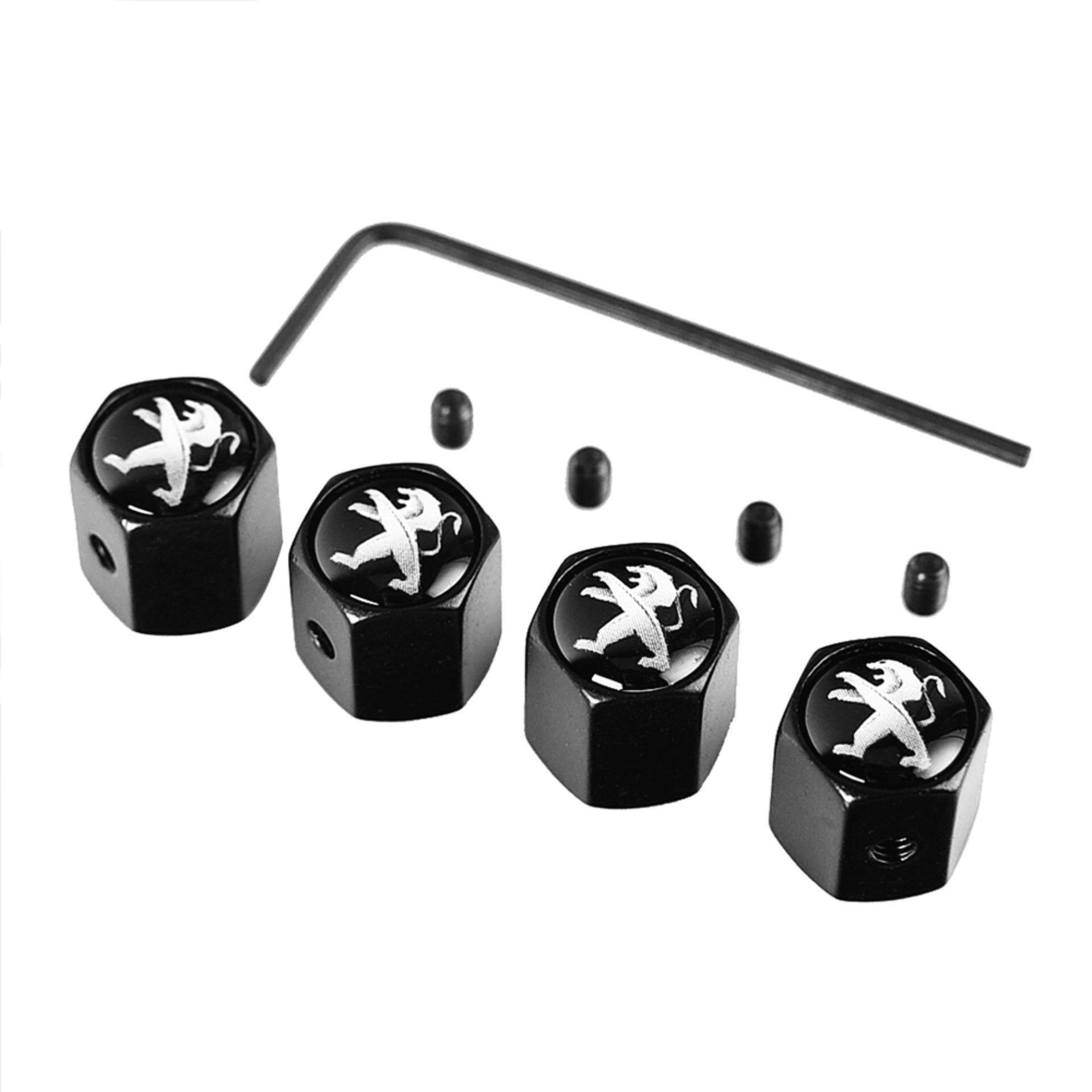 Air Car Wheel Cap 4 Pieces/Pack Tire Valve Caps Anti-theft Car-