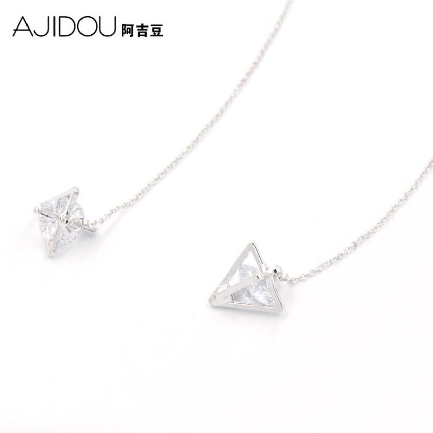 Ajidou Ajidou Penghitung Jual Telinga Tali Wanita Cerah Imitasi Zirkon Anting-Anting Perhiasan Korea Modis Anting-Anting-Internasional