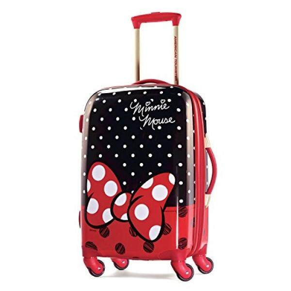 American Tourister Disney Minnie Mouse Red Bow Hardside Spinner 21, Multi, One Size - intl