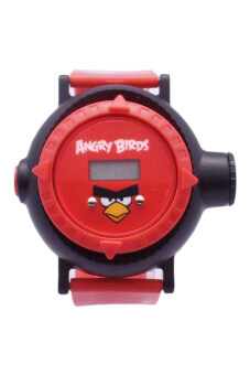 Angry Birds AYBSQ804 Projector Watch (Red)