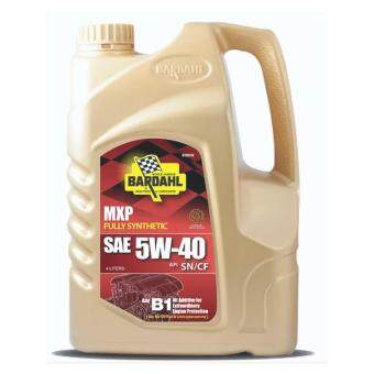 BARDAHL FULLY SYNTHETIC ENGINE OIL SAE 5W-40 (API SN/CF) 4L