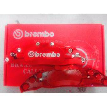Brembo Cover Steel Universal Disc Brake Caliper Cover Brake Cover Alloy Red