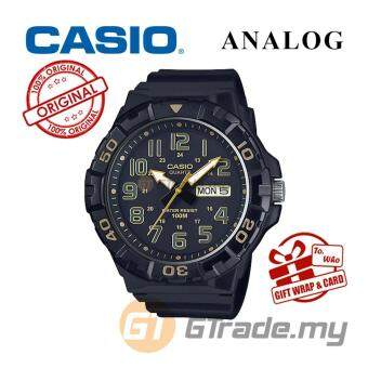 CASIO MEN MRW-210H-1A2V Analog Watch - Big Size Day Date Display
