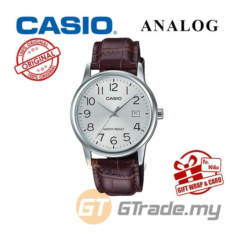 CASIO MEN MTP-V002L-7B2 Analog Watch | Date Display Simple Easy Malaysia