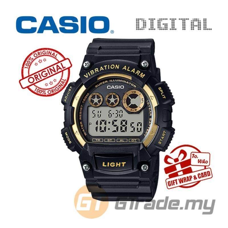 CASIO STANDARD W-735H-1A2V Digital Watch - 10Y Batt. Vibrate Alarm Malaysia