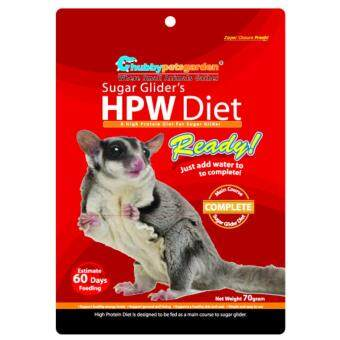 Chubbypetsgarden(R) Sugar Glider's HPW Diet Ready 70g (Sugar Glider Food)