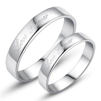 Couple Rings Jewellry 925 Silver Adjustable Lovers Ring JewelryE014