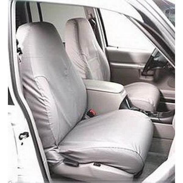 Covercraft SeatSaver Second Row Custom Fit Seat Cover untuk Ram Pickup Model-Polycotton (Arang)-Intl