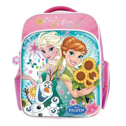 Disney Princess Frozen Fever Pre School Bag - Pink Colour