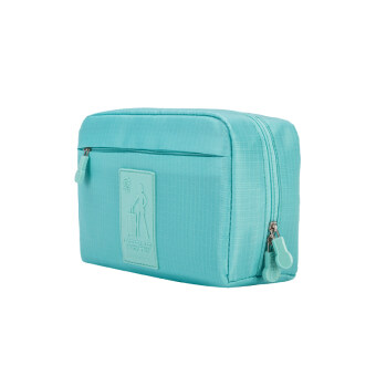 Double arts waterproof multi-layer storage bag finishing cosmetic storage bag travel wash bag