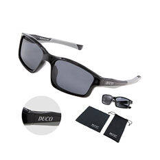running sunglasses mens ros0  New Release Full Rim Polarized Sunglasses For Sports Running Cycling  Fishing TR90 Unbreakable Frame 6177 Black Frame Gray Lens