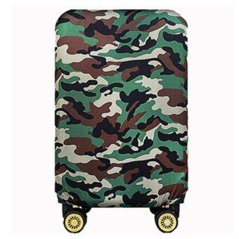 Elastic 20 inch Luggage Cover Suitcase Cover Protector(Cover OnlyNot Luggage)Green