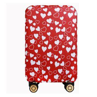 Elastic 20 inch Luggage Cover Suitcase Cover Protector(Cover OnlyNot Luggage)Red