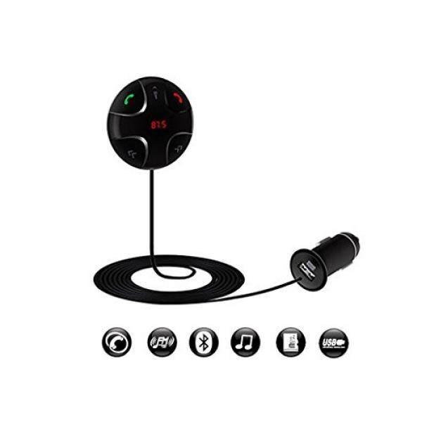 Enegg Wireless Bluetooth Car Kit Fm Transmitter Radio Adapter FM Modulator Music Mp3 Usb Player Audio for iPhone Samsung Nexus One Plus Motorola LG Nokia Sony HTC Google Pixel Android Cell Phone - intl