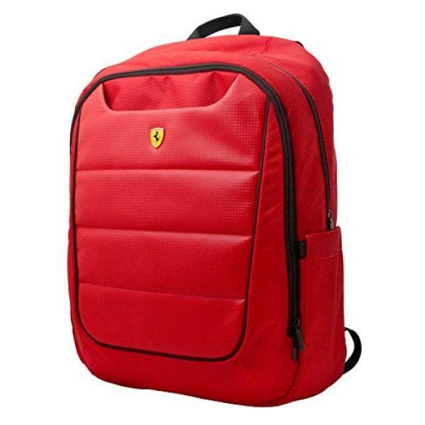 Ferrari Backpack Red with Black Piping - intl