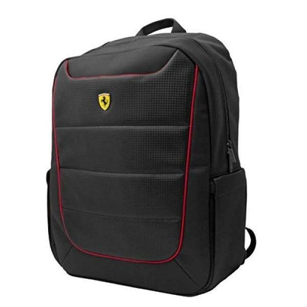 Ferrari Scuderia Ransel-Hitam-Merah Perpipaan-15-Internasional