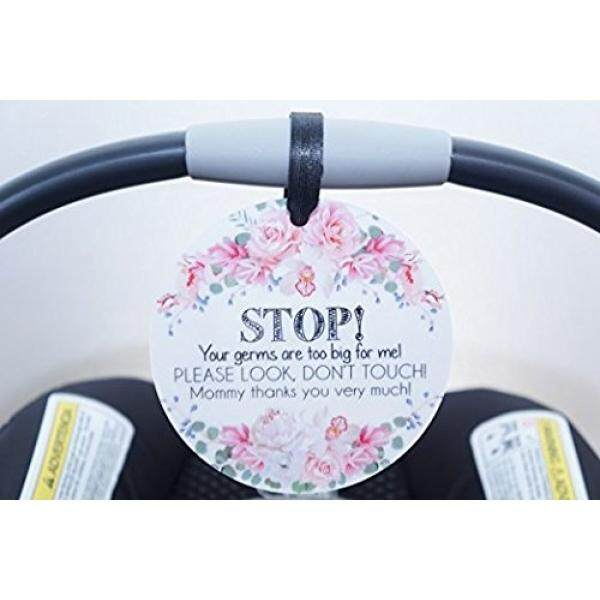 Perempuan Preemie Tanda, Bayi Baru Lahir, Bayi Mobil Kursi Label, Hadiah Bayi Pancuran, Stroller Label, bayi Preemie Tidak Menyentuh Mobil Kursi Tanda-Internasional