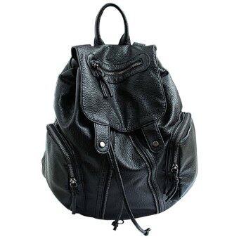 Girl School Bag Cute Satchel Travel Backpack Black - Intl   Lazada ...