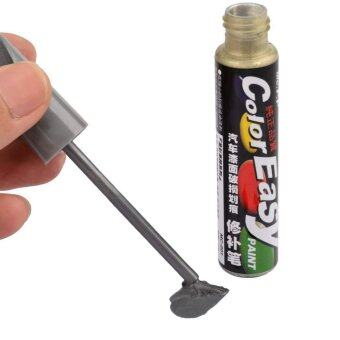 Happycat Auto Car Paint Scratch Repair Touch Up Pen ScratchingRemover Tool Metal Grey For Suzuki (Metal Grey ) (11.2 x 1.8cm )