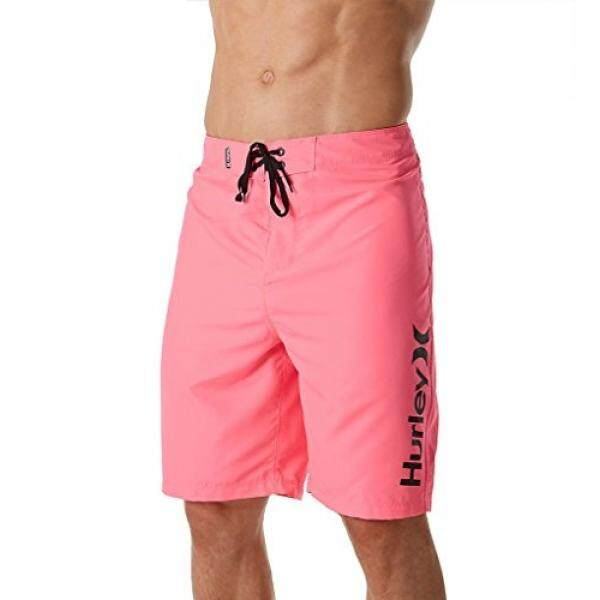 Hurley Mens One and Only 2.0 Boardshorts Neon Pink - intl