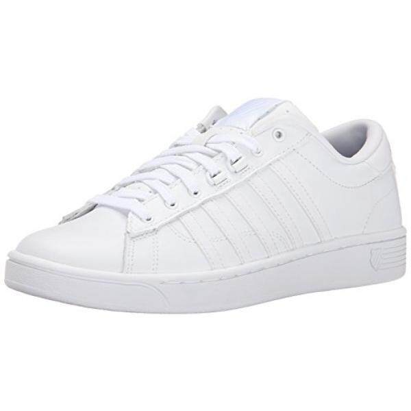 k swiss shoes black and white boy cats