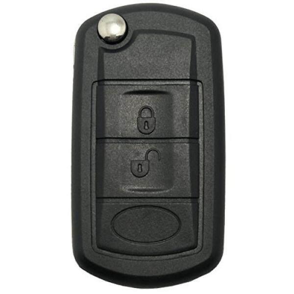 Kunci Fob Kasus untuk Land Rover Discovery LR3 Jarak Rover Olahraga Tanpa Kunci Masuk Jarak Jauh Pengendali Lipat Lipat Mobil Kunci Fob shell 3 Tombol Penggantian dengan Uncut Pedang Kosong-Internasional