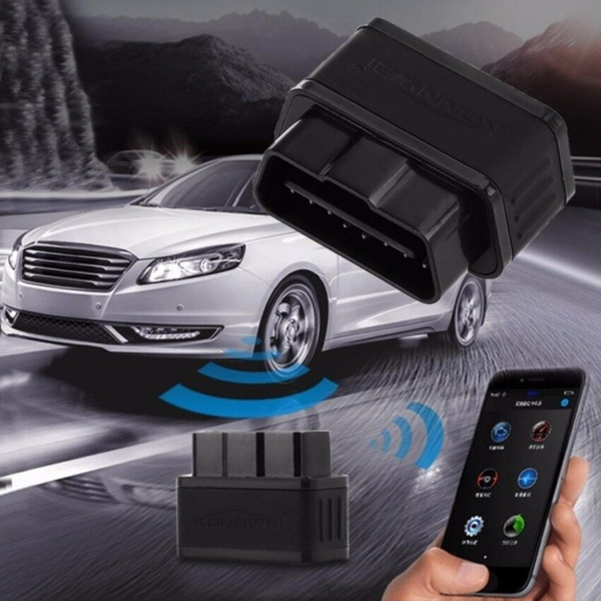 KW903 Bluetooth 4.0 Car Diagnostic Scan Tool OBDII Professional Solution for iOS System - intl