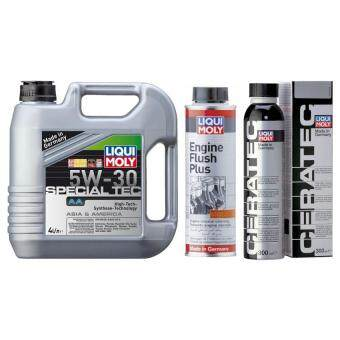 Liqui Moly Special Tec AA 5W30 + Engine Flush + CeraTec Package