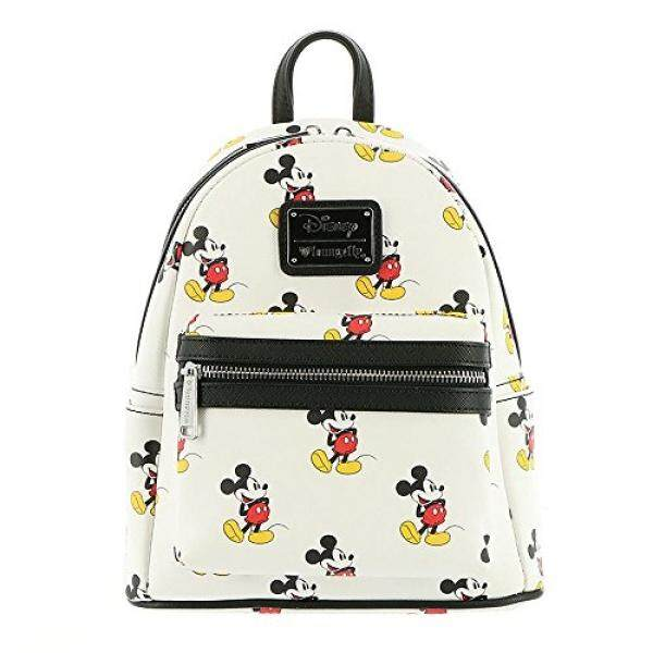 Loungefly x Mickey All Over Mini Backpack White - intl