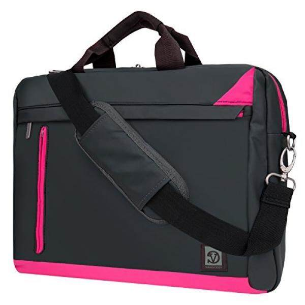 Magenta Laptop Bag Mesenger Case for Toshiba 15.6