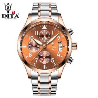 Men luminous steel waterproof watch men's watch