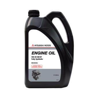 Mitsubishi 5W40 SN/CF Fully Synthetic Engine Oil 4L