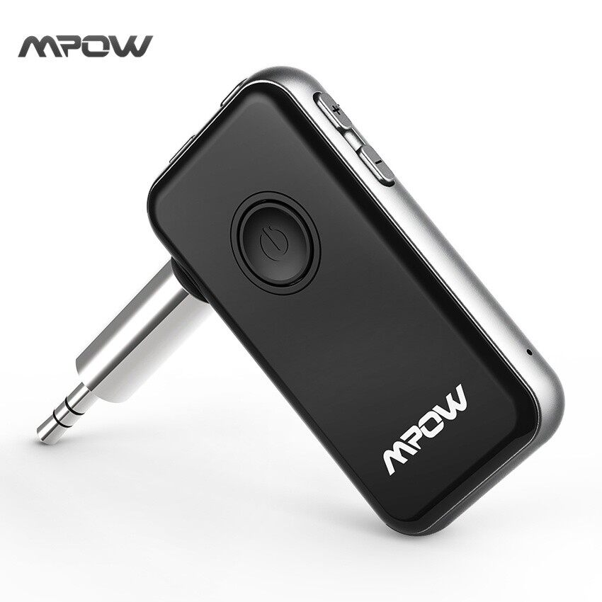 Mpow Bluetooth Transmitter & Receiver 3.5mm Audio Cable 2-in-1Wireless Adapter for Headphone Speaker TV PC Car Stereos MP3 MP4 - intl