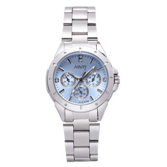 NARY Watch Jam Tangan women fashion luxury Watch Jam Tangan Reloj Mujer Stainless Steel Quality Diamond Ladies Quartz Watch Jam Tangan 019A