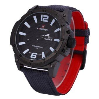 Naviforce 9066 Male Watch Calendar 3D Dial Analog 1