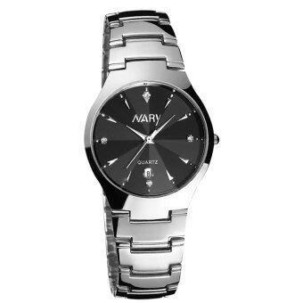 New Arrival NARY 6112 Watch Single Calendar Couple's QuartzWatch(black)
