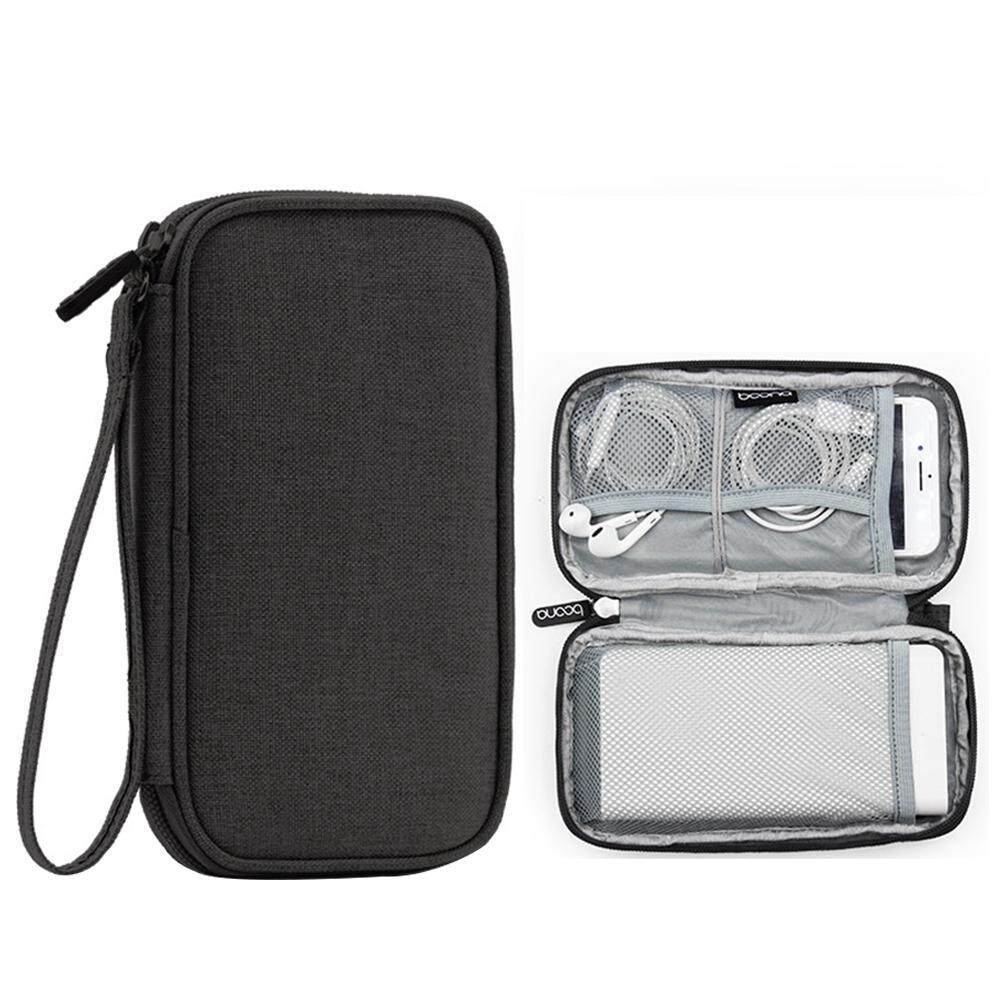 niceEshop Travel Gadget Organizer Bag Portable Digital Cable Bag Electronics Accessories Storage Carrying Case Pouch -