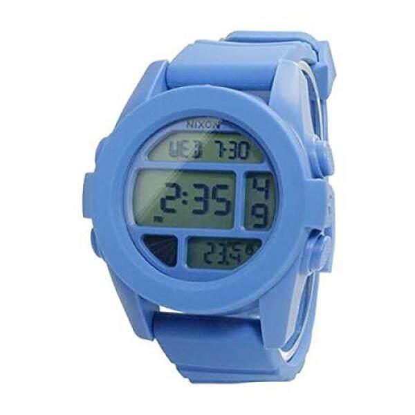 Nixon Mens A197-1405-00 Unit Digital Display Japanese Automatic Blue Watch