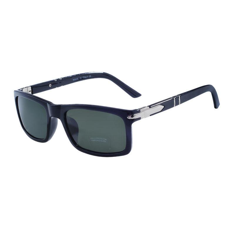glass lens sunglasses polarized y6an  Optical Glass Lens Vintage Sunglasses Men Original Brand