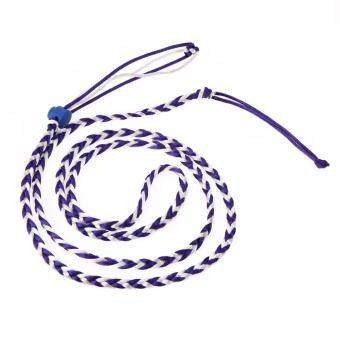 Pet Hamster Cage Leash Adjustable Pet Rat Mouse Harness RopeLeash(Blue)