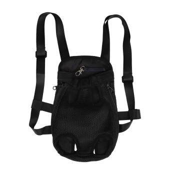 info for 8e15e 8e574 Pet Puppy Cat Carrier Five Holes Shoulder Backpack Travel OutdoorChest Bag