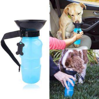 Pet Travel Auto Water Drinking Feeder Bowl Bottle Dispenser Dog CatPortable